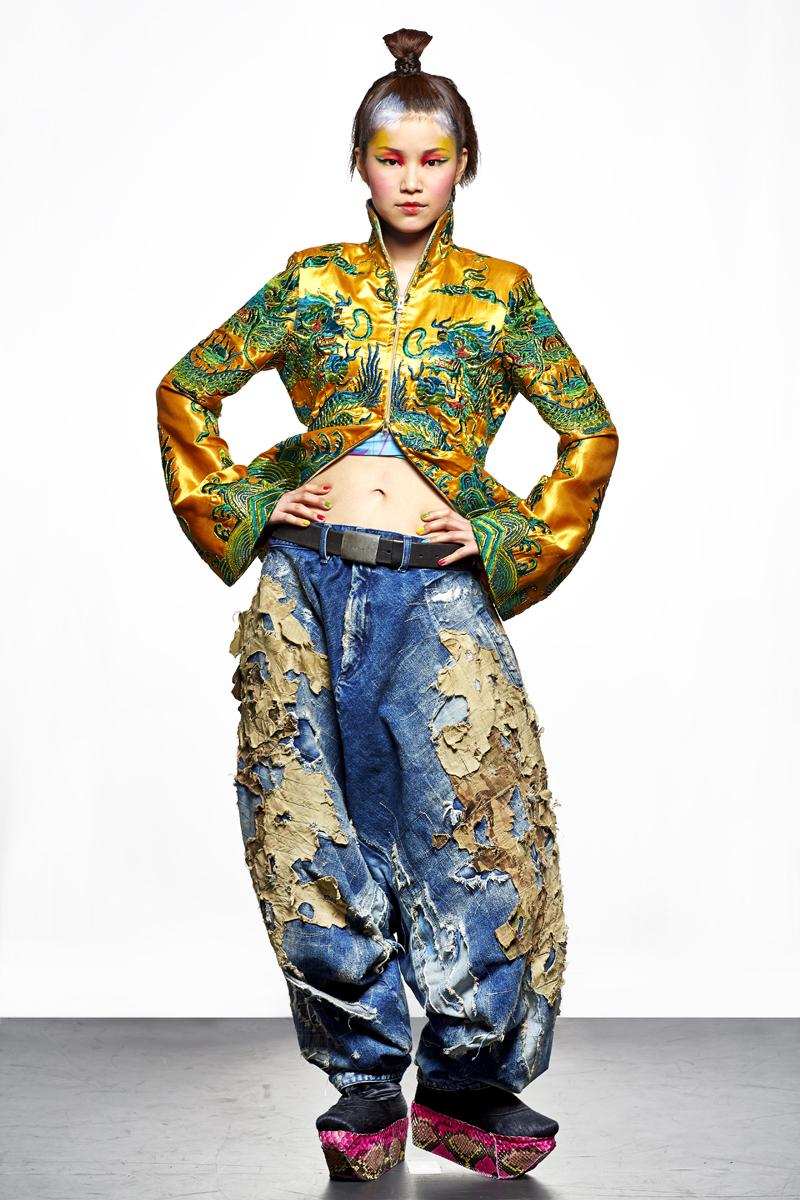 Kansai Yamamoto Fashion In Motion: 'Kansai Yamamoto Collection Tokyo 2013' By Clive