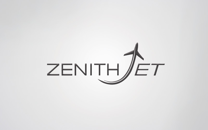 'ZenithJet - Logo Design - Aircraft Sales' by Design Shopp ...